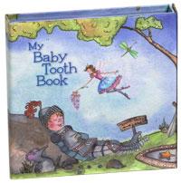 Boys Blue Tooth Storage Book