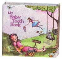 Girls Pink Tooth Storage Book