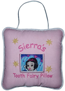 Snow White Tooth Fairy Pillow