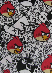Angry Birds Tooth Fairy Pillow