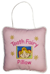 Wendy the Builder Tooth Fairy Pillow