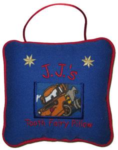 Disney Pixar Mater Tooth Fairy Pillow