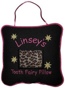 Cheetah Tooth Fairy Pillow