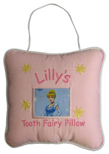 Cinderella Tooth Fairy Pillow