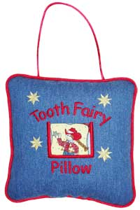 Cowgirl Tooth Fairy Pillow