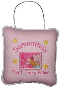 Pink Fairy Tooth Fairy Pillow