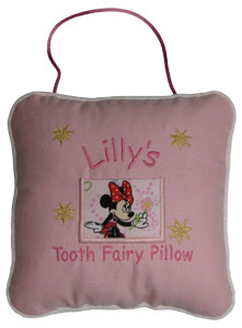 Minnie Mouse Tooth Fairy Pillow