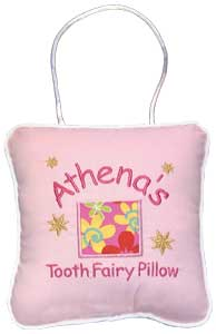 Flowered Tooth Fairy Pillow