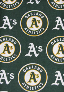 Oakland A's Tooth Fairy Pillow