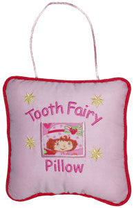 Strawberry Shortcake Tooth Fairy Pillow