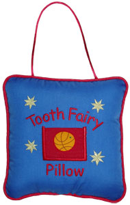 Basketball Tooth Fairy Pillow