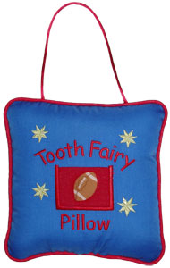 Football Tooth Fairy Pillow