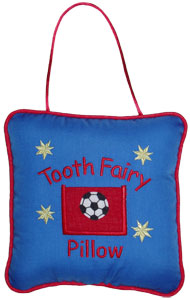 Soccer Tooth Fairy Pillow