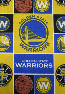 Golden State Warriors Tooth Fairy Pillow
